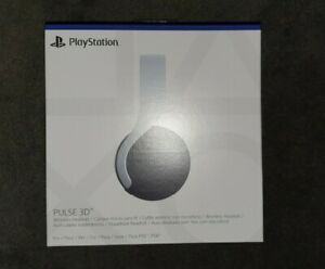 ** SONY PULSE 3D WIRELESS GAMING HEADSET FOR PS5 - WHITE/BLACK **