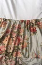 """Ralph Lauren Home Collection Stone Harbor Queen Ruffled Bedskirt 15"""" Drop"""