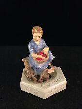 Sebastian Miniature Sml-064C Farmer's Wife Farmer City Hudson 6227 Signed