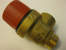 """ICMA SAFETY VALVES 1/2 x 1/2 """" FOR HEATING SISTEMS TO CONTROL PRESSURE"""