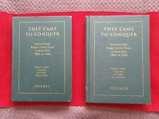 New listing They Came to Conquer International Rugby Union Tours 1894 - 1966 Limit. Ed. #101