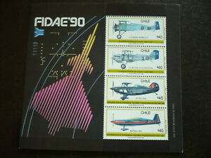 Stamps - Chile - Scott# 881a - Souvenir Sheet