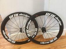 Real Design 50mm Carbon Clincher Track Wheelset