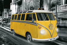 VW Camper NEW YORK TAXI VOLKSWAGEN Maxi Poster PH0473 61x91.5cm