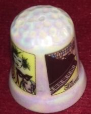 New Orleans Collectable Pearlescent China Thimble