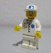 Doctor EMT EMS Worker Glasses Town Hospital 6666 Lego Minifigure Mini Figure Fig