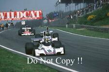 Carlos Pace Brabham BT44B de Martini Racing holandés Grand Prix 1975 fotografía 3