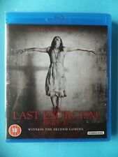 NEW SEALED LAST EXORCISM PART II (2) Blu RAY HD Blu RAY DVD Movie Video