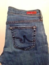AG Adriano Goldschmied Tomboy Relaxed Straight Crop Denim Jeans Size 30 USA