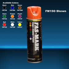 FEDERAL PROCESS FM15O FAS-MAR CAP & COVER PAINT ORANGE 15 OZ. AEROSOL