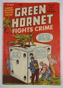 Green Hornet Fights Crime #39 (1948 Harvey) Comic Book, 1st Mary Worth, RARE 5.0