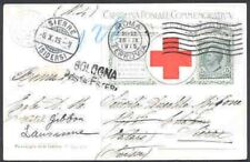 Italy 1915 Red Cross view card