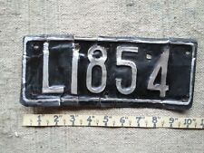 JAMAICA License Plate Tag MOTORCYCLE pre-1975 Montego Bay region - LOW SHIPPING