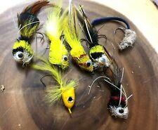 Bass Fly Popper Fly Fishing Popper Flies  Panfish Popper -Handmade in Canada