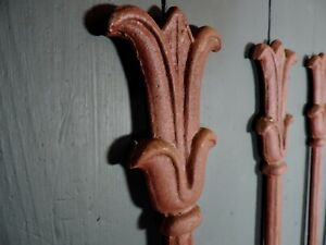 33 Reclaimed Lengths of Antique Victorian Cast Iron Railings