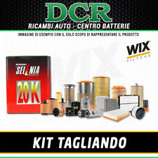 REPLACEMENT KIT FIAT PUNTO 1.2 16V 86CV 63KW FROM 97 TO 99 + SELENIA 20K 10W40