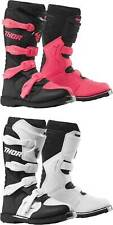 Thor Women's Blitz XP Boots - MX Motocross Dirt Bike Off-Road ATV Gear