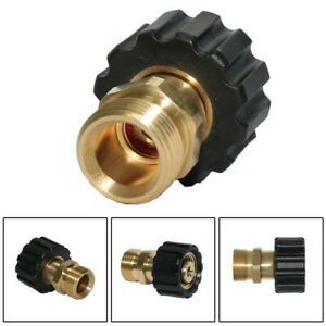Screw Nipple M22 Male/14mm to M22 Female/15mm Hose Coupling Durable Practical