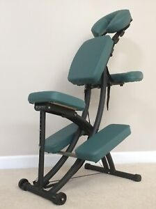 Oakworks Portal Pro 3 Portable Green Massage Chair-Excellent Condition