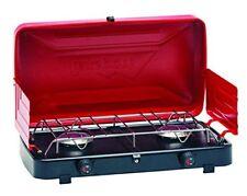 Texsport Rainier Compact 2 Burner Propane Outdoor Camping Stove