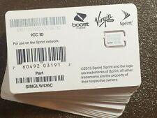 Sprint boost virgin nano sim SIMGLW436C 63.09