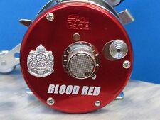 AMBASSADEUR 6500C BLOOD RED FIRST EDITION ABU GARCIA IMPORT COLLECTORS NEW MINT!