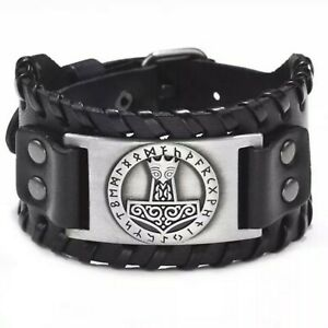 "Armband Wikinger ""Hammer des Thor"" Viking Schmuck Armband Mittelalter"
