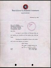 Baltimore 1931 - Glenn L Martin Aviation Louis Chevrolet - Lockhead  Letter Head