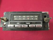 Vintage 9345270 Delco AM/FM Car Radio, No Knobs