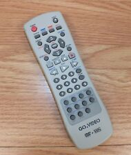 Genuine Go Video (HIPSHS-1) Gray/ Dark Gray Remote Control With Battery Cover