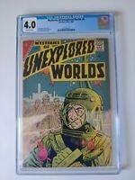 Mysteries of Unexplored World#8 CGC 4.0 Steve Ditko & Gene Colan Art 1958