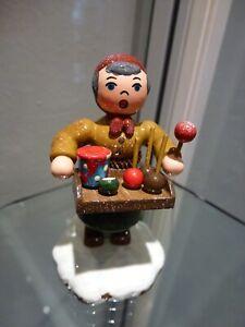 Hubrig Volkskunst Erzgebirge Miniaturen Winterkinder Holzfiguren