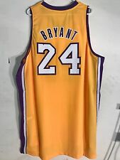 Adidas Swingman NBA Jersey LOS ANGELES Lakers Kobe Bryant Gold sz 2X