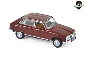 RENAULT 16 SUPER 1966 - Voiture rouge foncé France red car - 1/87 NOREV 511689