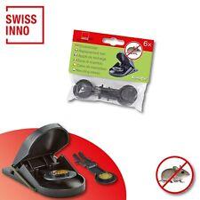 1 x 6 Stück Swissinno SuperCat Ersatzköder für Mausefalle Schlagfalle
