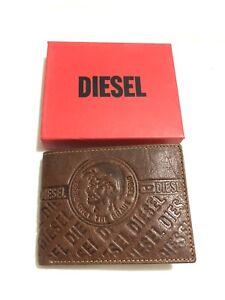 Mens Brown Diesel Leather Wallet