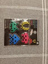 Fred perry space invaders 3d stickers