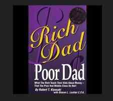 Rich Dad Poor Dad by Robert Kiyosaki FREE SHIPPING Teach Kids about Money