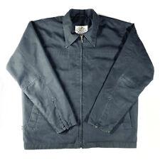 Volcom Stone Vintage Mens Mechanic Work Jacket Size M Black Retro, Rare, Vtg
