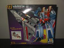 transformers g1 japanese reissue starscream mint in box MIB