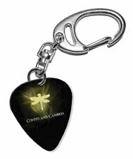 More details for coheed & cambria guitar plectrum keychain - f 1