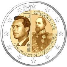 2 Euro Luxemburg 2017 Geburtstag des Großherzogs Wilhelm III. BU