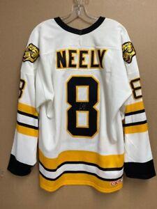 Cam Neely Signed Boston Bruins Jersey w/COA HOF