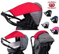 Multi-Way SUNSHADE Waterproof Canopy CARRYCOT PRAM PUSHCHAIR Stroller Baby