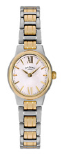 Rotary Olivie Gold Plated Silver Stainless Steel Ladies Watch LB0274701 RRP £179