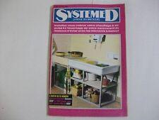 SYSTEME D N°297 OCTOBRE 1970 CHAUFFAGE AIR PULSE HIVERNAGE CARAVANE DESSOUS EVIE