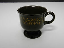 """Franciscan Jamoca Footed Cup Brown 3 1/2"""" T 1973-1984"""
