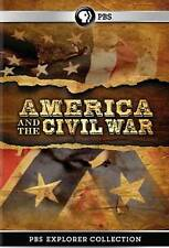 America and the Civil War (DVD, 2012, 2-Disc Set) Ex-Library