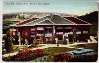 1912 ELMIRA New York NY Postcard RORICK'S GLEN THEATRE Chemung County