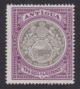 Antigua. SG 39, 2/6 grey-black & purple. Fine mounted mint.